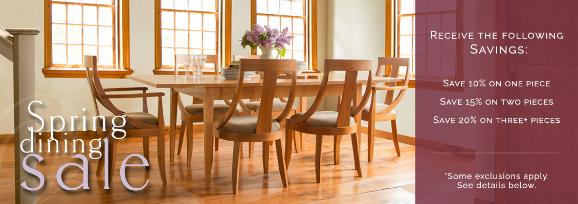 American Made Dining Room Furniture Sale | Natural Solid Wood