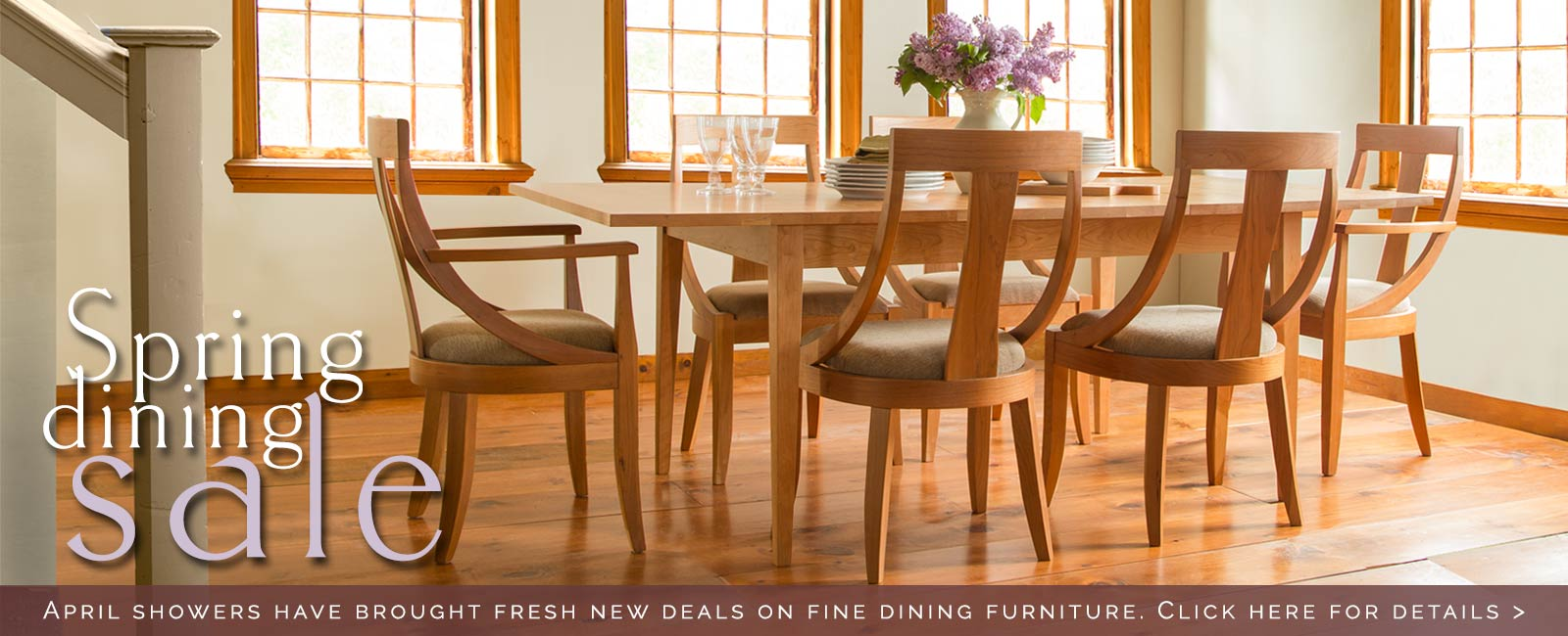 American Made Dining Room Furniture Sale