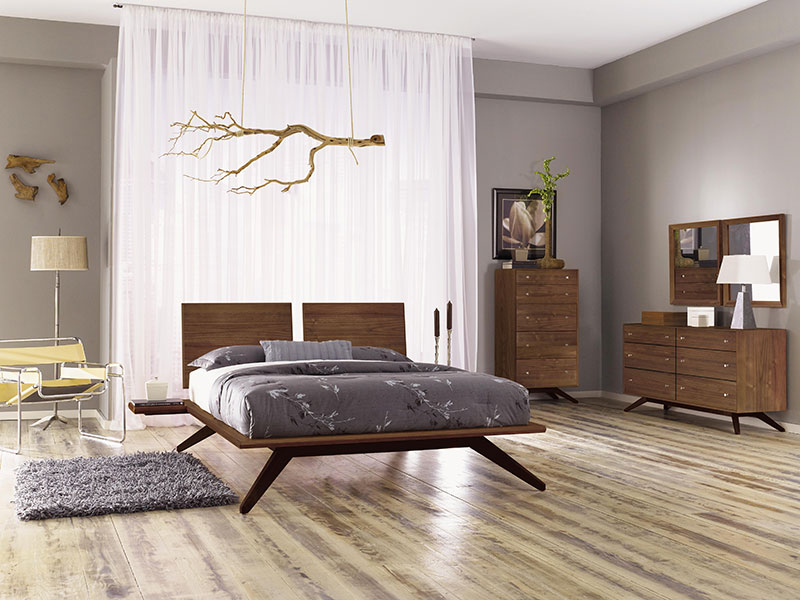Astrid Bedroom Furniture in Natural Walnut