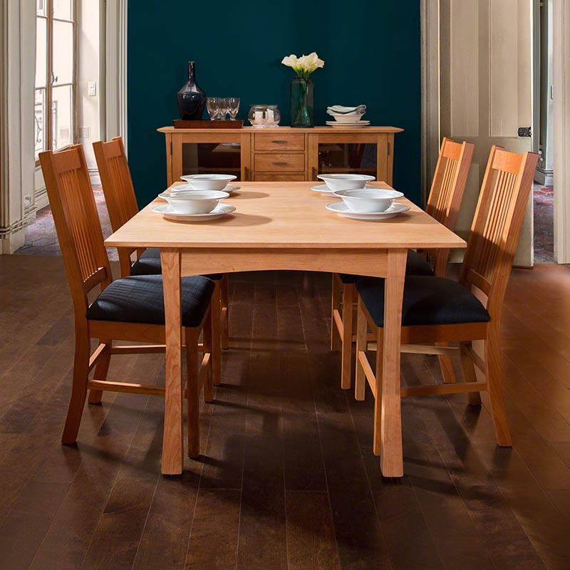 Contemporary Craftsman Dining Set