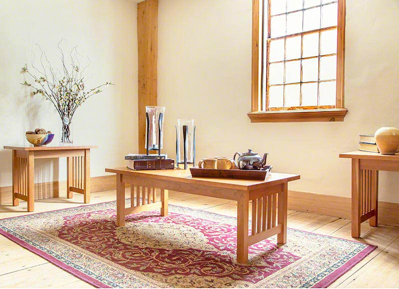 American Mission Living Room Table Set Vermont Woods Studios