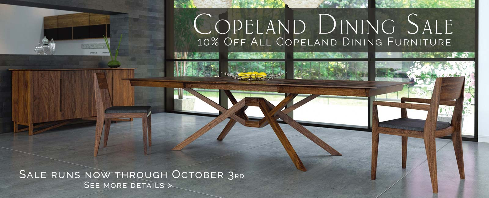 Copeland Fall Dining Sale
