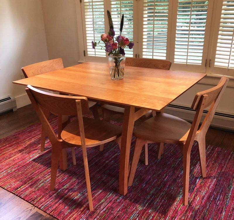 Modern VT Cherry Dining Table | Copeland Exeter Walnut Dining Table