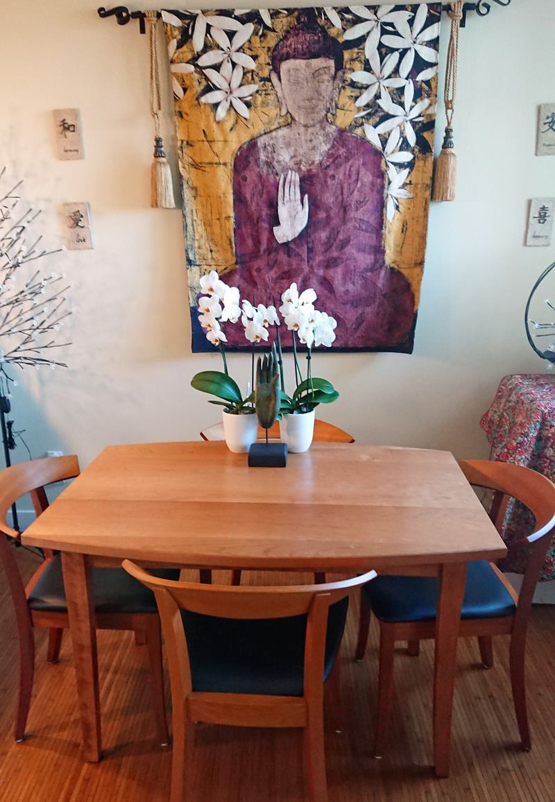 Shaker Dining Table | Solid Wood | Handmade in VT