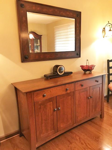 Natural Cherry Wood Buffet | Vermont Made