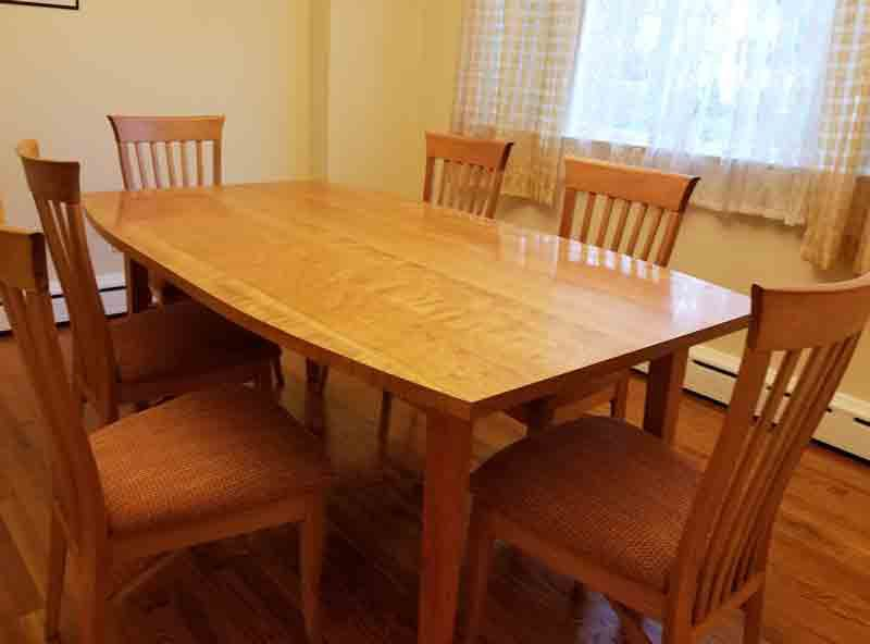 Cherry Dining Table & Chairs- Customer Review