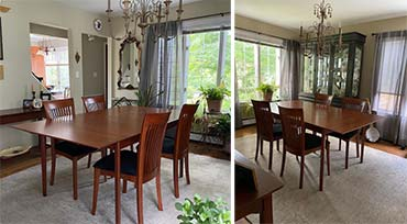 Sarah Shaker Extension Table & Sarah Chairs | Vermont Woods Studios