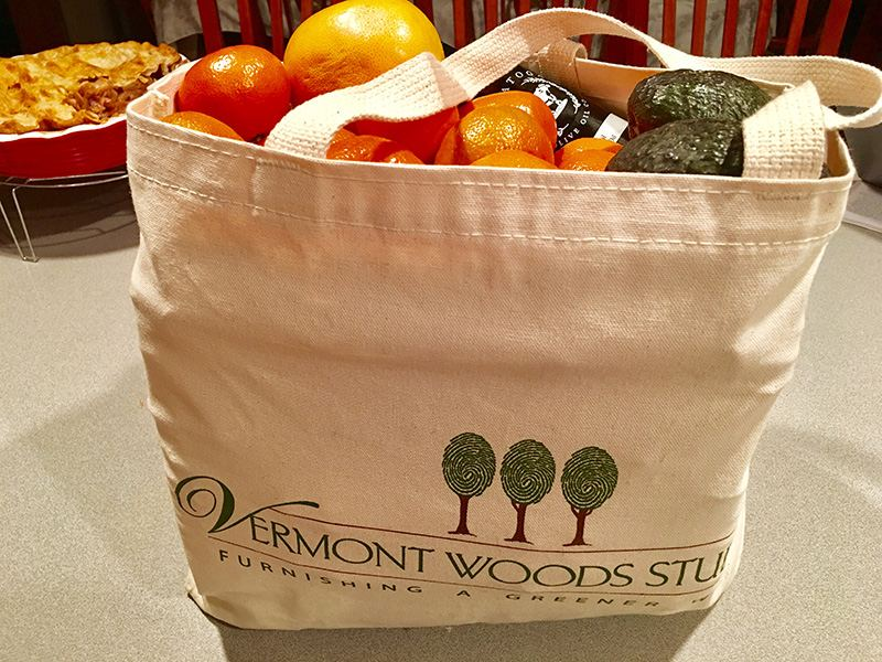 Re-usable shopping bags | Vermont Woods Studios
