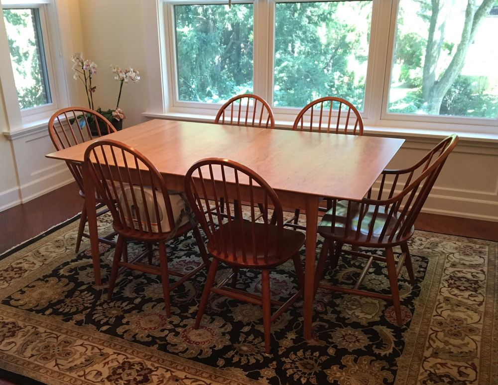 Customer Photo: Sarah Shaker Dining Table