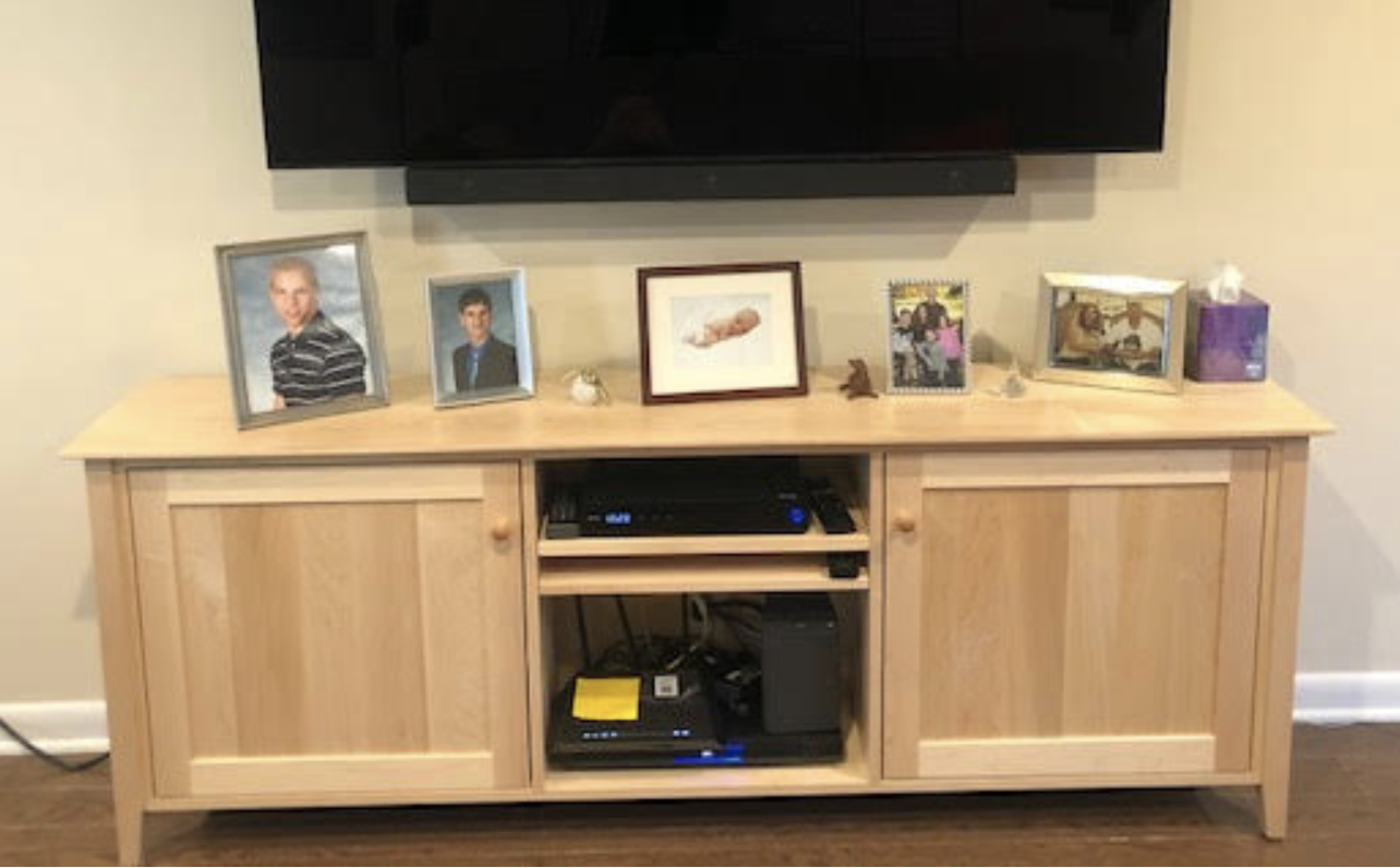 Shaker Media Console | Customer Review | Vermont Woods Studios