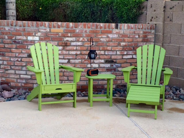 Polywood, adirondack chair, outdoor furniture
